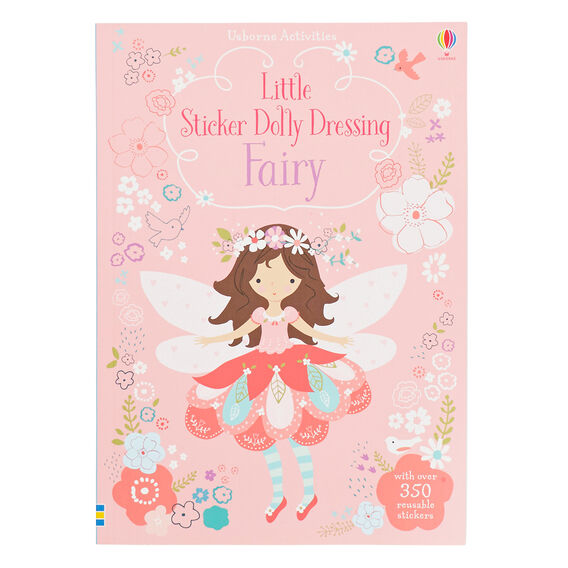 Little Sticker Dolly Dressing Fairy Book