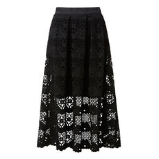 Flare Lace Skirt