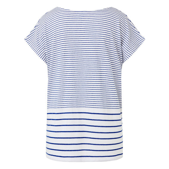 Variagated Stripe Tee