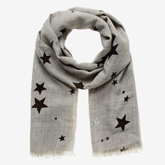 Sequin Star Scarf