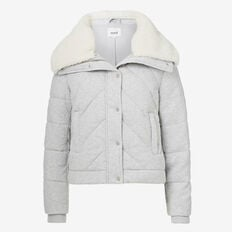 Jersey Quilted Jacket