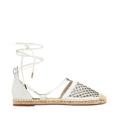 Elita Cut Out Espadrille  WHITE  hi-res