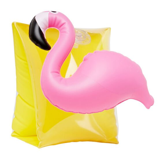 Inflatable Flamingo Arm Bands  MULTI  hi-res
