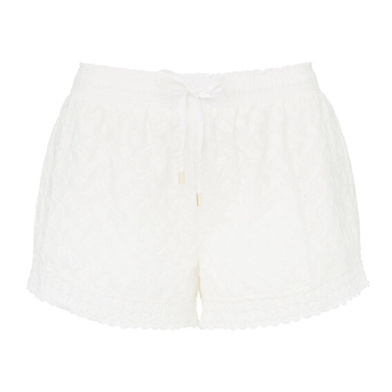 Embroidered Short  CREAM  hi-res