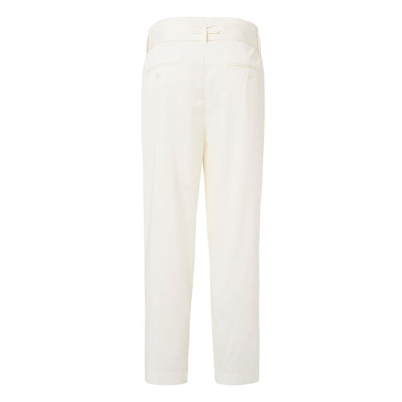 Gathered Waist Pant  CREAM  hi-res