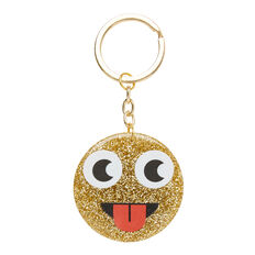 Glitter Face Charm  GOLD  hi-res