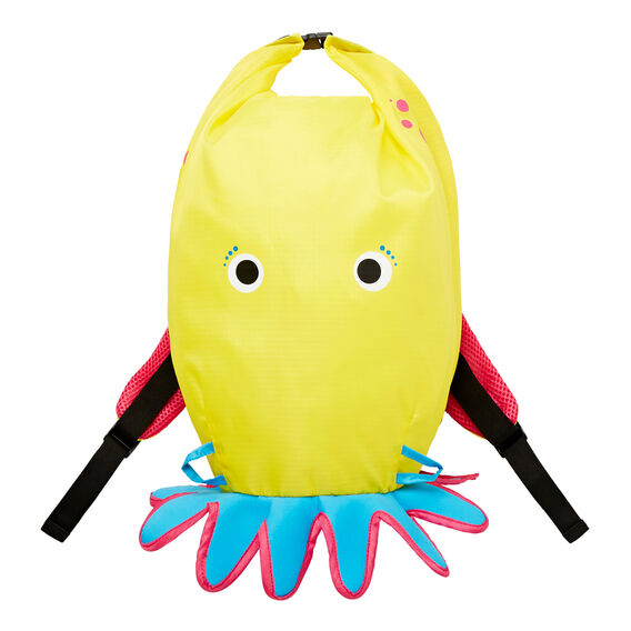 Octopus Backpack  YELLOW  hi-res