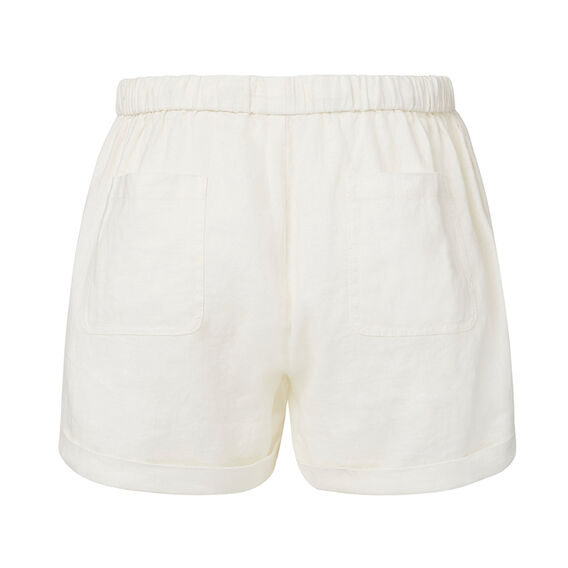 Linen Short  CREAM  hi-res