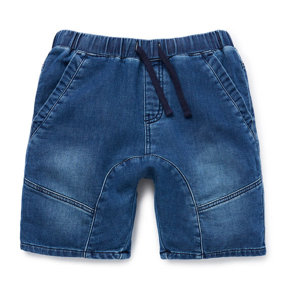 Denim Terry Short  DARK WASH  hi-res