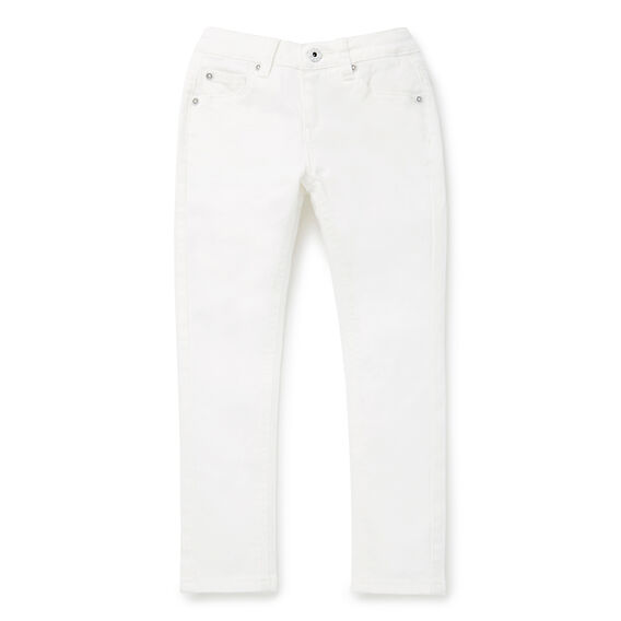 Slim Ankle Grazer Jean  WHITE  hi-res