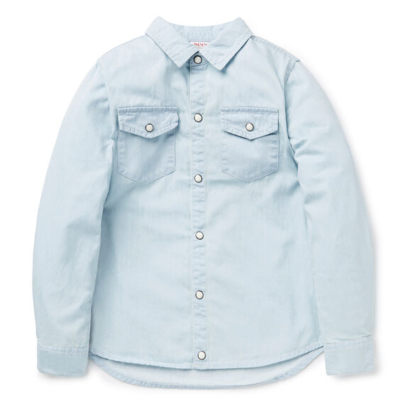 Chambray Shirt  PALE CHAMBRAY  hi-res
