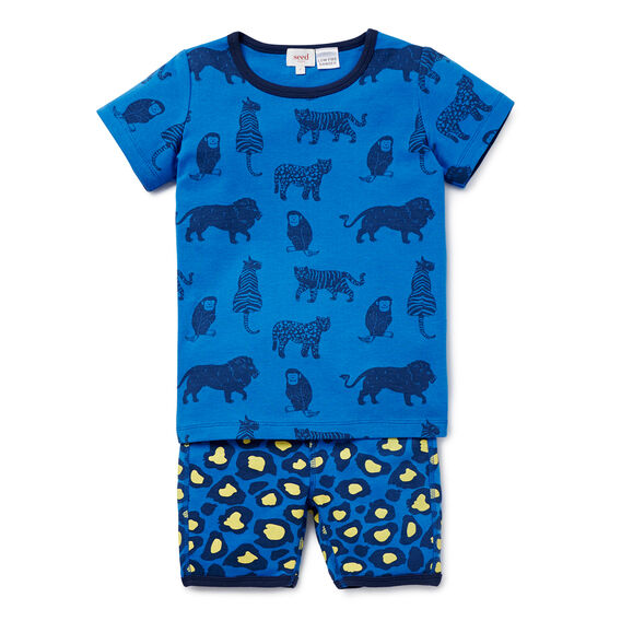Jungle PJ's  BERMUDA BLUE  hi-res