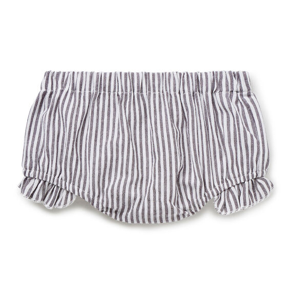 Stripe Frill Bloomer  CEMENT GREY  hi-res