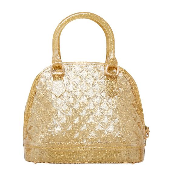 Jelly Bowling Bag  GOLD GLITTER  hi-res
