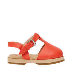Rubber Clog  CHERRY RED  hi-res