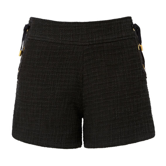 Textured Short  BLACK  hi-res