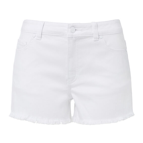 Denim Short  WHITE  hi-res