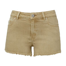 Mini Denim Short  LEAF GREEN  hi-res