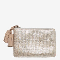 Tassel Coin Purse  METALLIC  hi-res