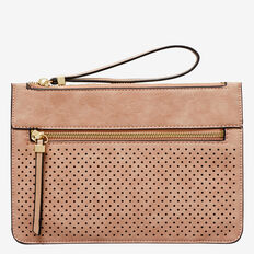 Perforated Clutch  ROSE CLOUD  hi-res
