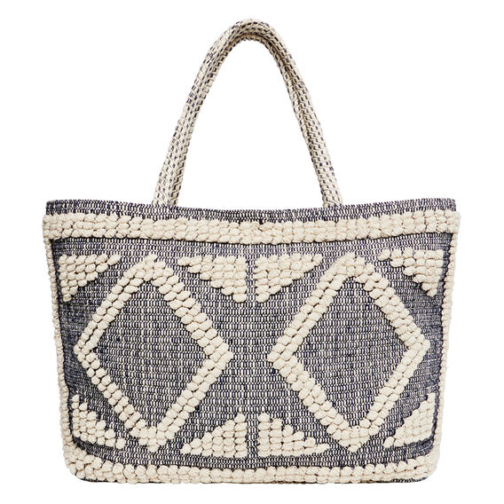 Diamond Tote  NAVY  hi-res