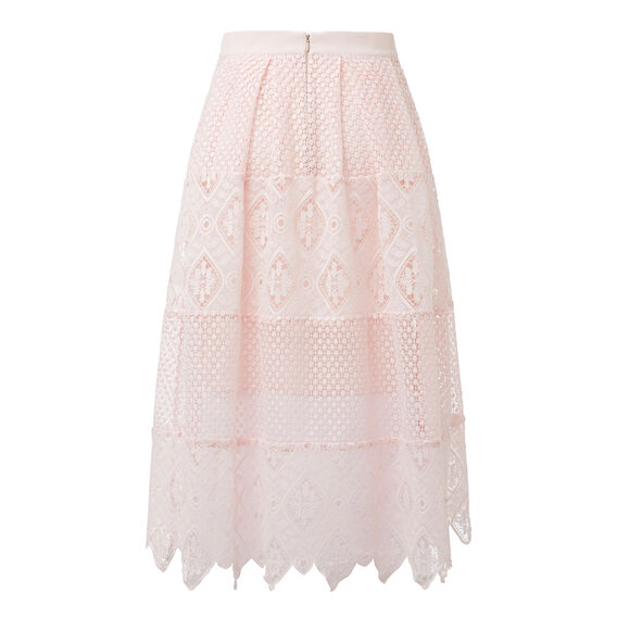 Tier Broderie Skirt  PINK BLUSH  hi-res