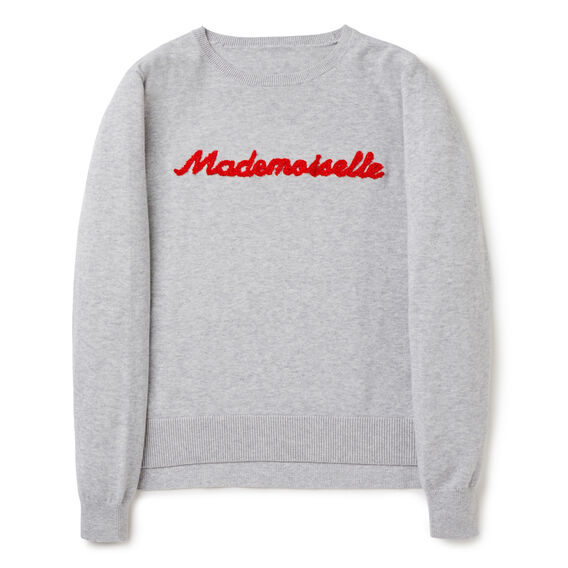 Slogan Sweater  CLOUD  hi-res