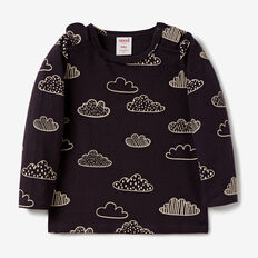 Geo Cloud Tee  VINTAGE BLACK  hi-res