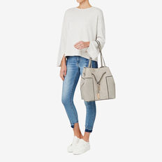 Bryn Contrast Bag  GREY  hi-res