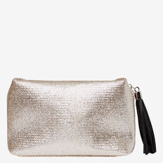Large Cosmetic Bag  METALLIC  hi-res