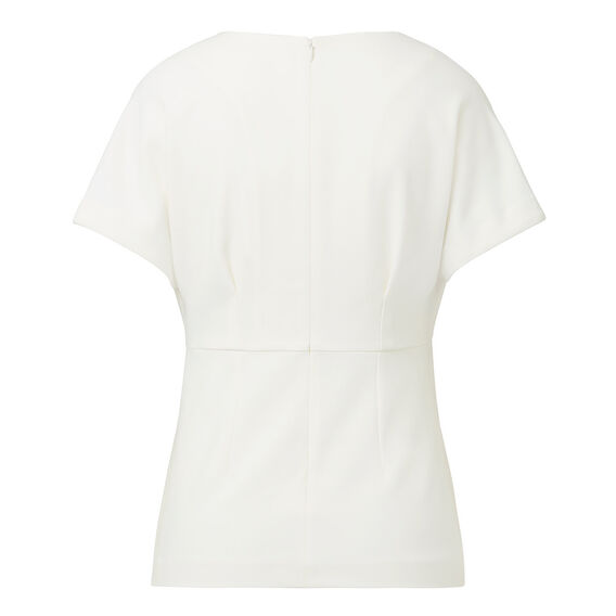 Tuck and Sew Top  CREAM  hi-res