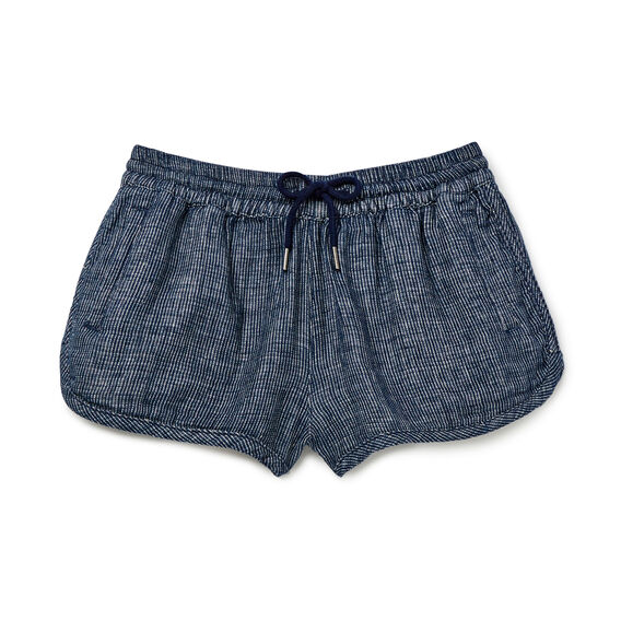Open Weave Short  MIDNIGHT INDIGO  hi-res
