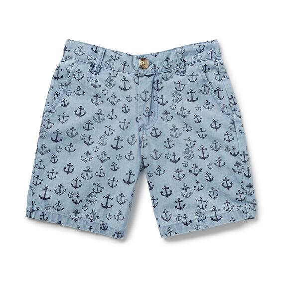 Anchor Short  PALE CHAMBRAY  hi-res