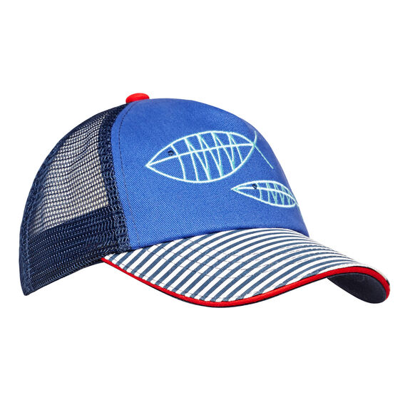 Fish Outline Cap  MULTI  hi-res