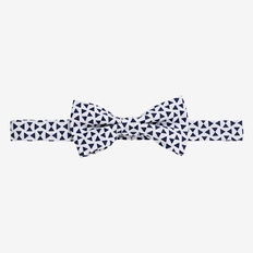 Triangle Bow Tie  NAVY  hi-res