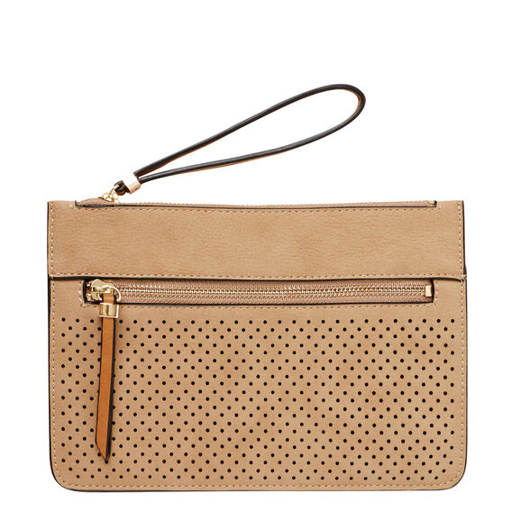 Perforated Clutch  MUSHROOM  hi-res