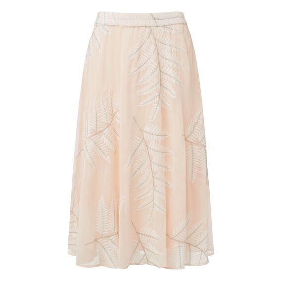 Palm Midi Skirt  MULTI  hi-res
