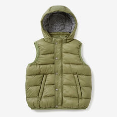 Puffa Vest  LIGHT KHAKI  hi-res