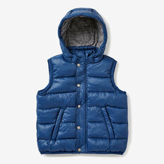 Puffa Vest  RIVER BLUE  hi-res
