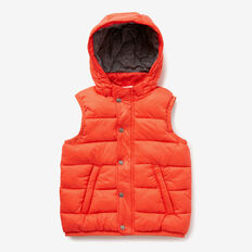 Puffa Vest  TRUE RED  hi-res