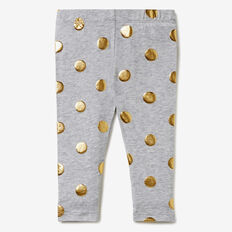 Foil Spot Legging  CLOUD  hi-res