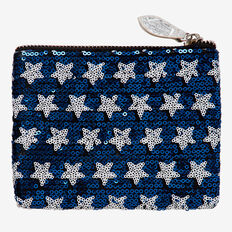 Sequin Star Purse  BLUE  hi-res