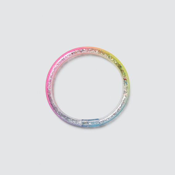 Rainbow Glitter Bangle  MULTI  hi-res