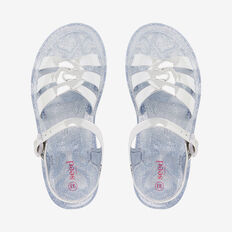 Jelly Knot Sandal  SILVER  hi-res