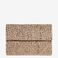 Beaded Clutch  ROSE GOLD  hi-res