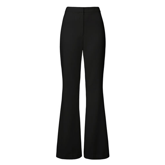 Collection Slim Flare Pant  BLACK  hi-res