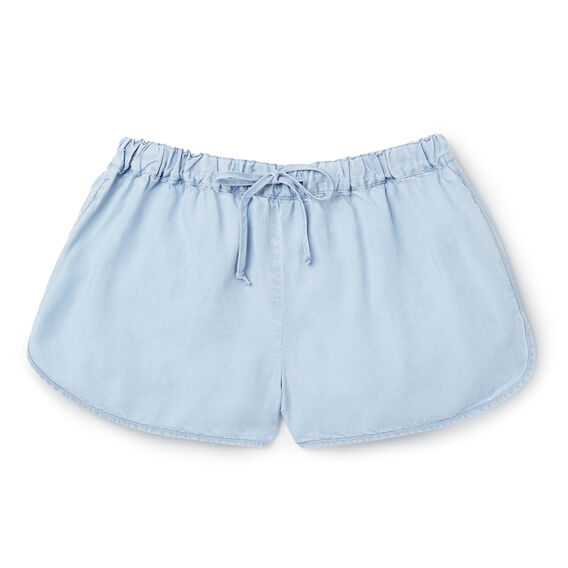 Soft Runner Short  SUNBLEACHED CHAMBRAY  hi-res