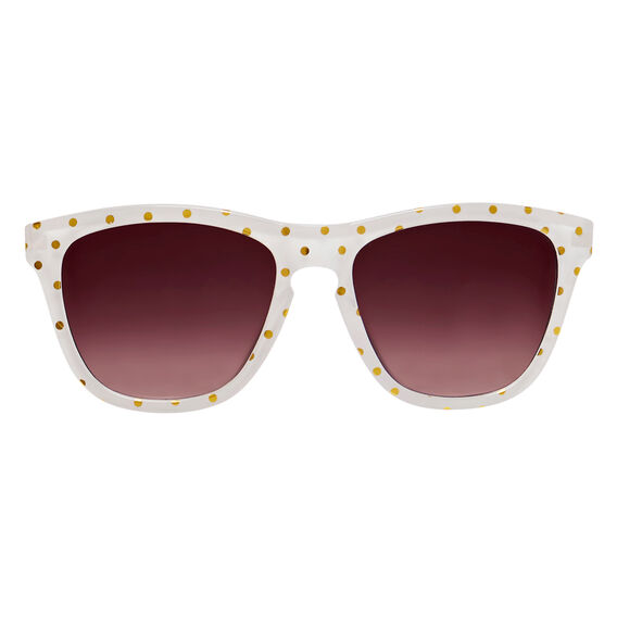 Gold Spot Sunglasses  WHITE/GOLD  hi-res