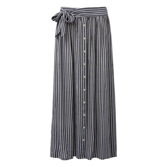 Stripe Maxi Skirt  STRIPE  hi-res