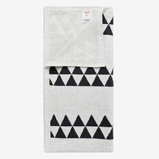 Knit Triangle Blanket  ICY MARLE  hi-res